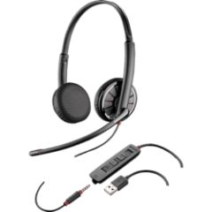 Casque USB stéréo Blackwire C325M (optimisé Lync)