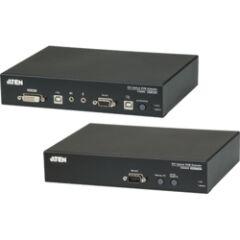 KVM extender DVI sur fibre optique 600m