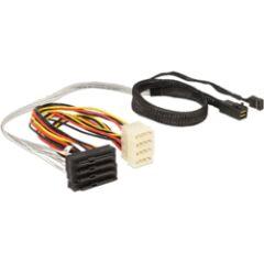 Câble mini SAS SFF-8643 M/ 4x SAS SFF-8482 0,5m