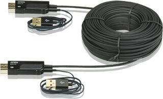 Câble HDMI optique actif 4Kx2K Plug & Play 30m