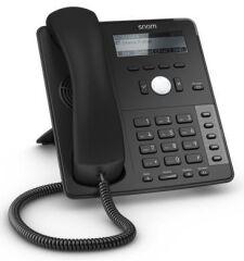 Téléphone SIP Snom D715 4 comptes Giga USB noir