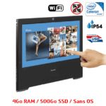 PC All In One tactile noir 4Go - 500Go sans OS