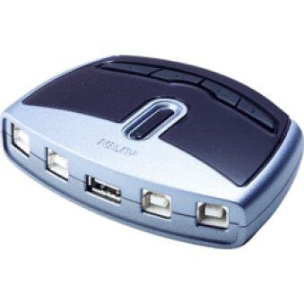 SWITCH DE PARTAGE - USB 2.0 - 4 PC VERS 1 PERIPH