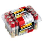 Pack 24 piles super alcaline LR6 1200mA