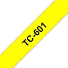Ruban TC 12mm noir / jaune