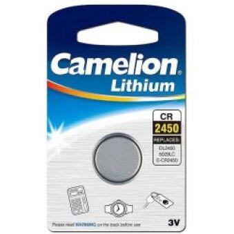 Pile bouton CR2450 3V Retail 24.5x5mm