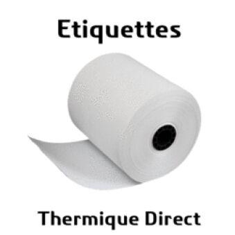 Lot de 10836 etiq. 102x76mm thermique direct