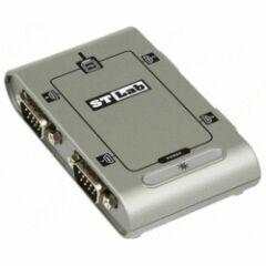 Adaptateur USB 4 ports séries RS232 4X DB9 M