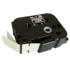 Ruban pochoir STE151 24mm Noir