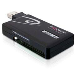 Mini lecteur de cartes USB 2.0 6 slots