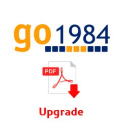 Upgrade Go1984 PRO vers ULTIMATE