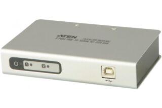 ADAPTATEUR USB / 2 PORTS SERIE RS232 DB9 M