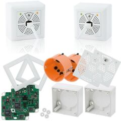 KIT DEPORT MX 2 WIRE MOBOTIX POE + DATA 7W / 500m