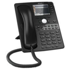 Téléphone SIP Snom D765 12 comptes Giga USB noir