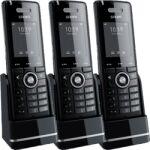 3 téléphones DECT supplémentaires M65 chargeur