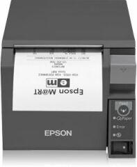 Imprimante tickets de caisse TMT70II Wifi noire