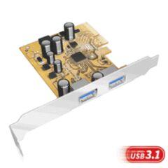 Contrôleur USB 3.1 2 ports Type A