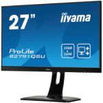 "Moniteur LED 27"" QHD DVI /HDMI /DP HP 2560x1440"