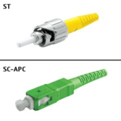 Jarretière OS2 SC/APC ST/UPC Simplex Primacy 3m