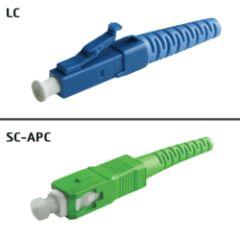 Jarretière OS2 LC/UPC SC/APC Simplex Primacy 10m