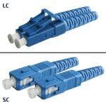 Jarretière OS2 LC/UPC SC/UPC Duplex Classic 5m