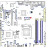 Carte mère SuperMicro X11SSZ-QF