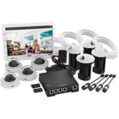 Kit vidéosurveillance F34 4 caméras et accessoires