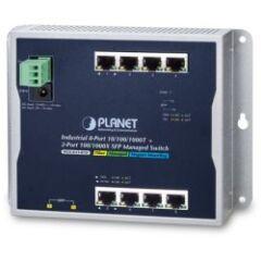 Switch mural 8 Giga + 2 SFP IP30 -40/+75ø L2