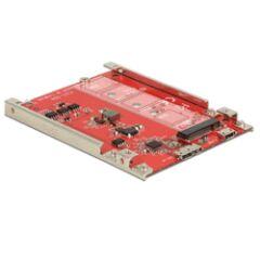 """Convertisseur 2""""1/2 USB 3.1 micro B F > M.2 Key B"""