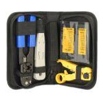 Mallette outillage réseaux RJ45 4 outils