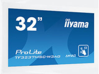 "Moniteur tactile open frame 31,5"" VGA/DVI/HDMI"