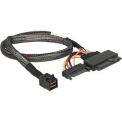 Câble U.2 SFF-8643 M > SFF-8639 +Sata power 75cm
