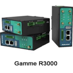 Routeur GSM 3G/4G dual SIM 2xRJ45 Rail Din Wifi