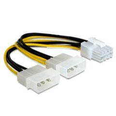 Adaptateur alimentation interne Molex -> PCIe 8pts