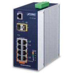 Switch indus 4 Giga PoE at +4 Giga +2 SFP -40øC L2