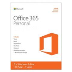 Microsoft Office 365 Personal 1 UC 1 an ESD