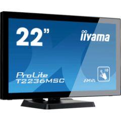 "Moniteur tactile 22"" VGA /DVI /HDMI multitouch"
