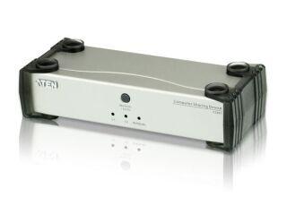Switch KVM desktop 1 PC vers 2 consoles DVI-D USB