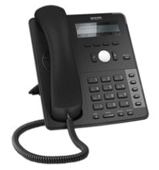 Téléphone SIP Snom D712 4 comptes noir
