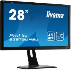"""Moniteur LED 28"""" UHD 4K VGA DVI HDMI DP HP piv"""