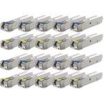 Pack de 20 modules SFP Giga SM WDM 3km 1x LC