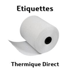 Lot de 9300 etiquettes papier thermique 25x76