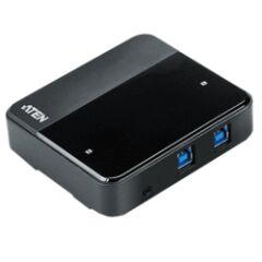 Switch 4 périphériques USB 3.0 vers 2 ordinateurs