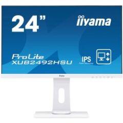 "Moniteur Ultra mince 24"" Full HD VGA/DVI/HDMI piv"