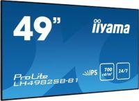 "Moniteur 49"" super slim DP/DVI/2xHDMI USB Média"