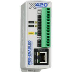 WebRealy 2E/S num. 4E anal 1Wire alim PoE 9-28Vdc