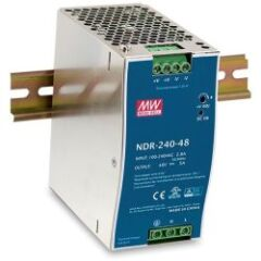 Alim 48V 240W pour Switch Indus, Format Rail-DIN