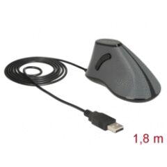 Souris filaire USB ergonomique 5 boutons
