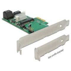 Carte PCI Express Sata 6Gbps 3 + 1 mSata int. DP