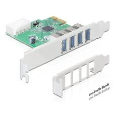Carte PCI Express USB 3.0 4 ports Dual Profile